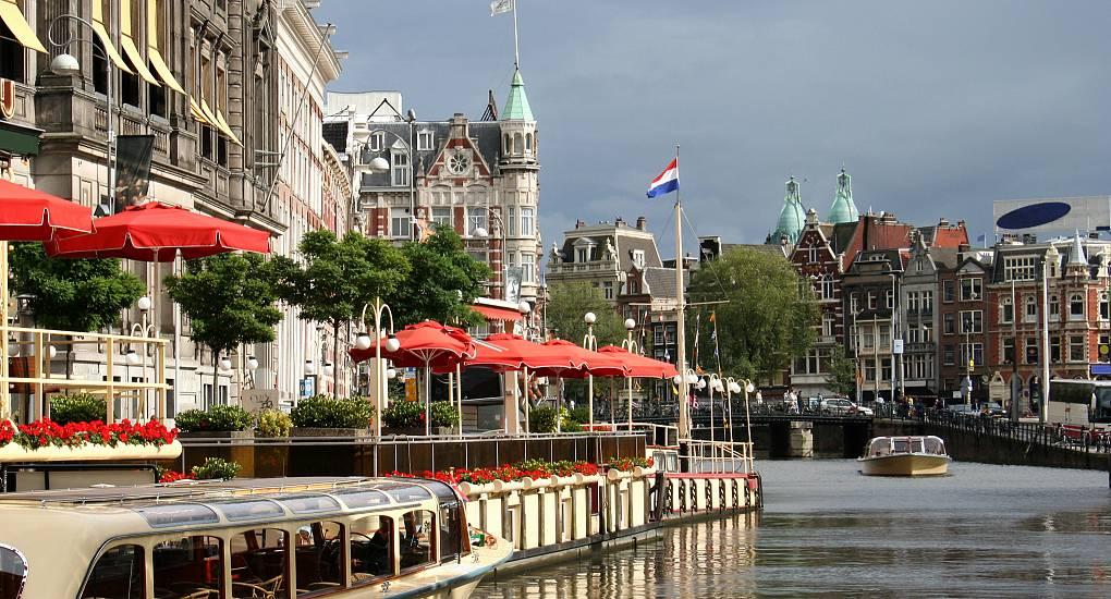 Cruising through Amsterdam