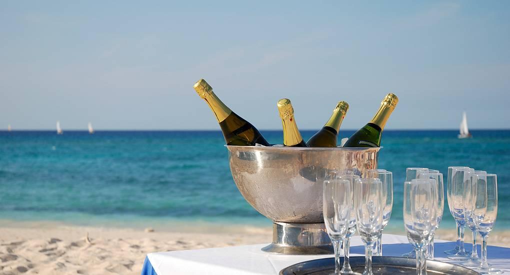VIP Champagne Reception
