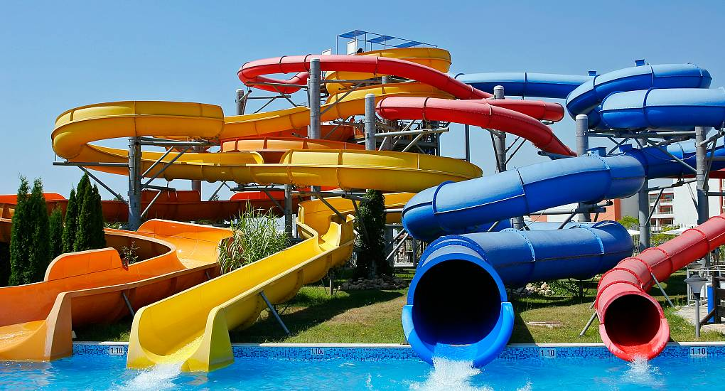 Waterslides in the Sun
