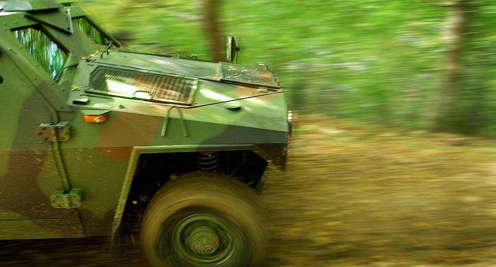Armoured Vehicle Driving