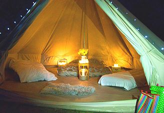 Why not Try: Glamping